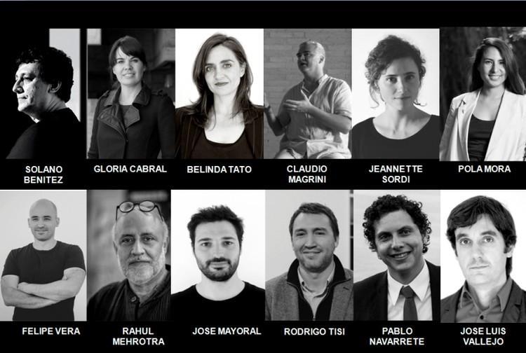 Anuncian equipo curador de la XX Bienal Chilena de Arquitectura y Urbanismo, Equipo Curatorial. Image Cortesía de Colegio de Arquitectos de Chile
