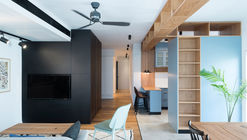 A functional Family Apartment  / RUST architects
