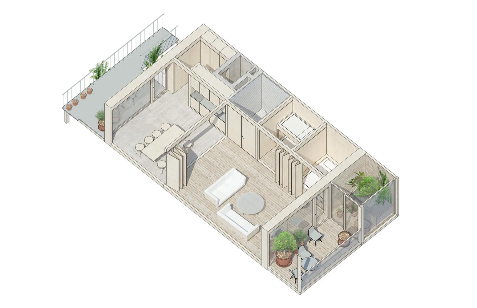 Kjellander Sjöberg S Winning Design Provides Sustainable Urban Living In Malmö Sweden