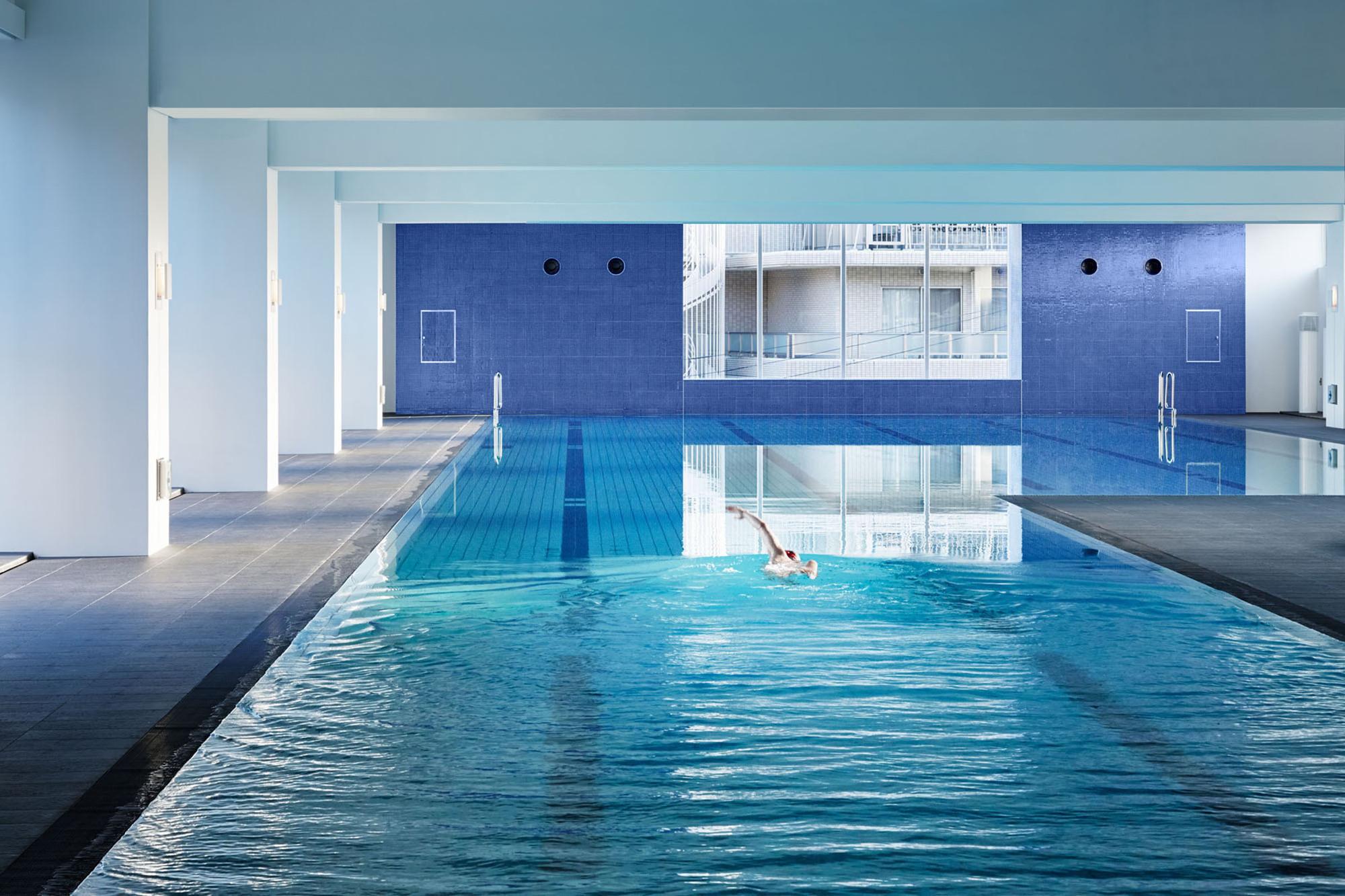 Gallery Of Aqua Sports Amp Spa Coe Architecture