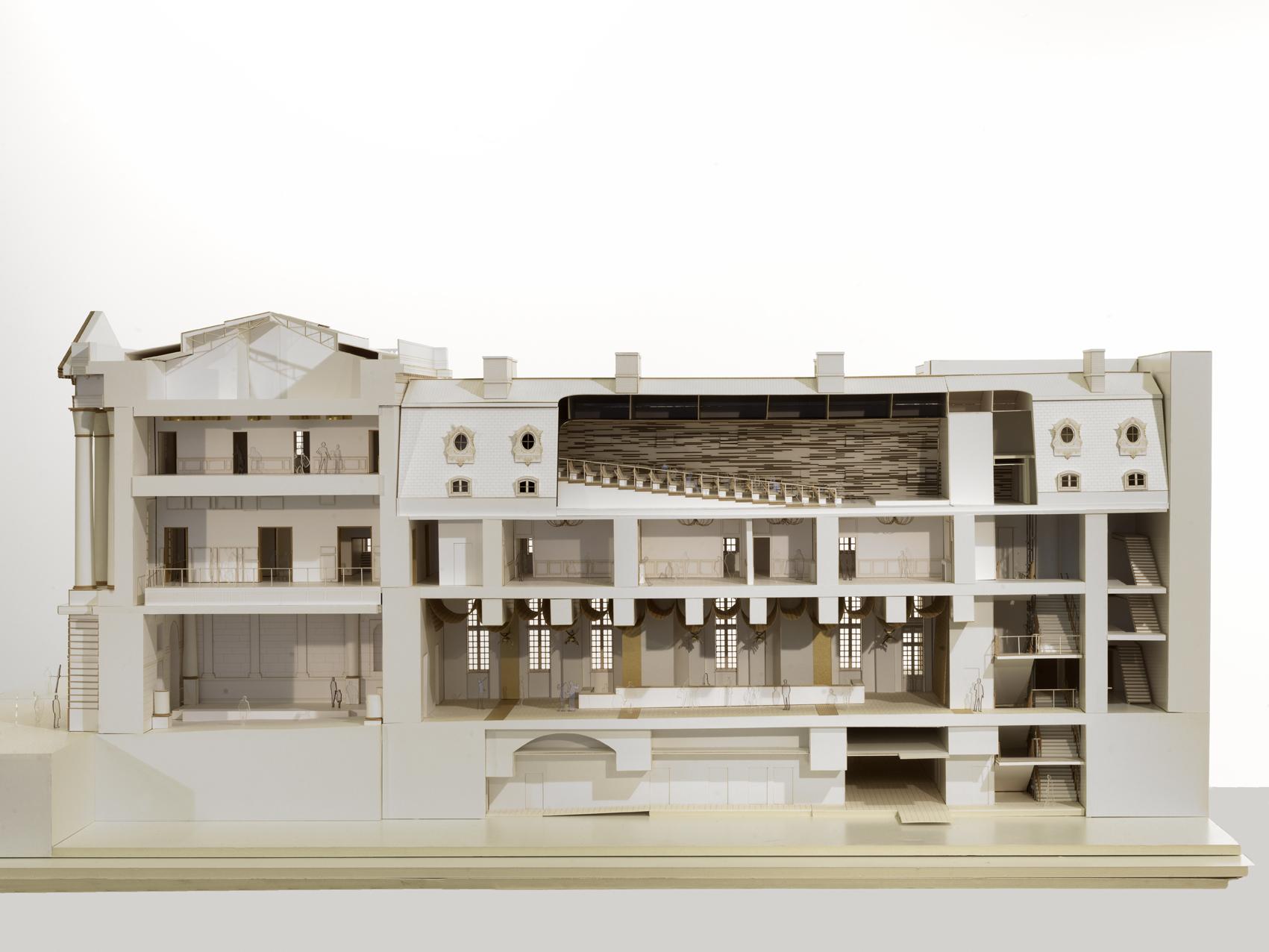 galeria de reforma do pavilh o dufour ch teau de versailles dominique perrault architecte 20. Black Bedroom Furniture Sets. Home Design Ideas