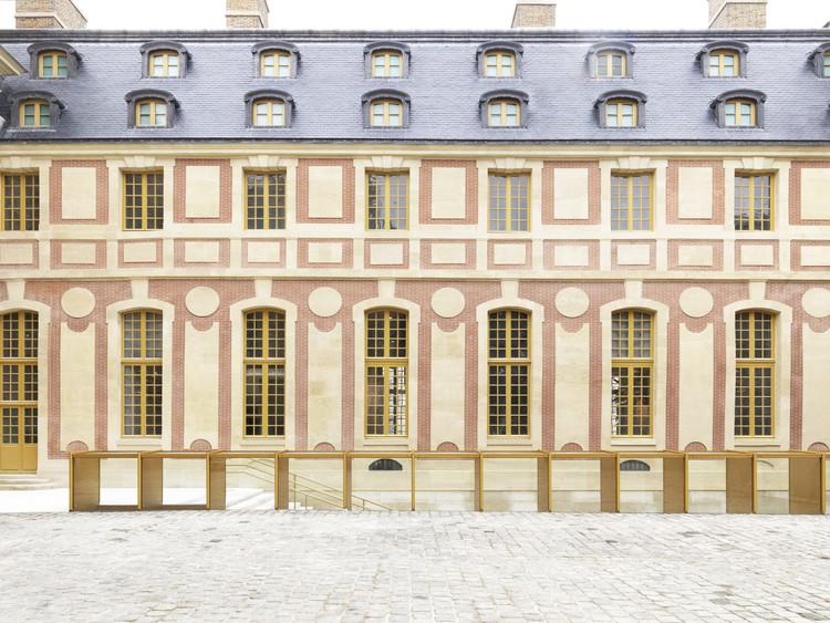 Reforma do pavilh o dufour ch teau de versailles for Architecte jardin versailles