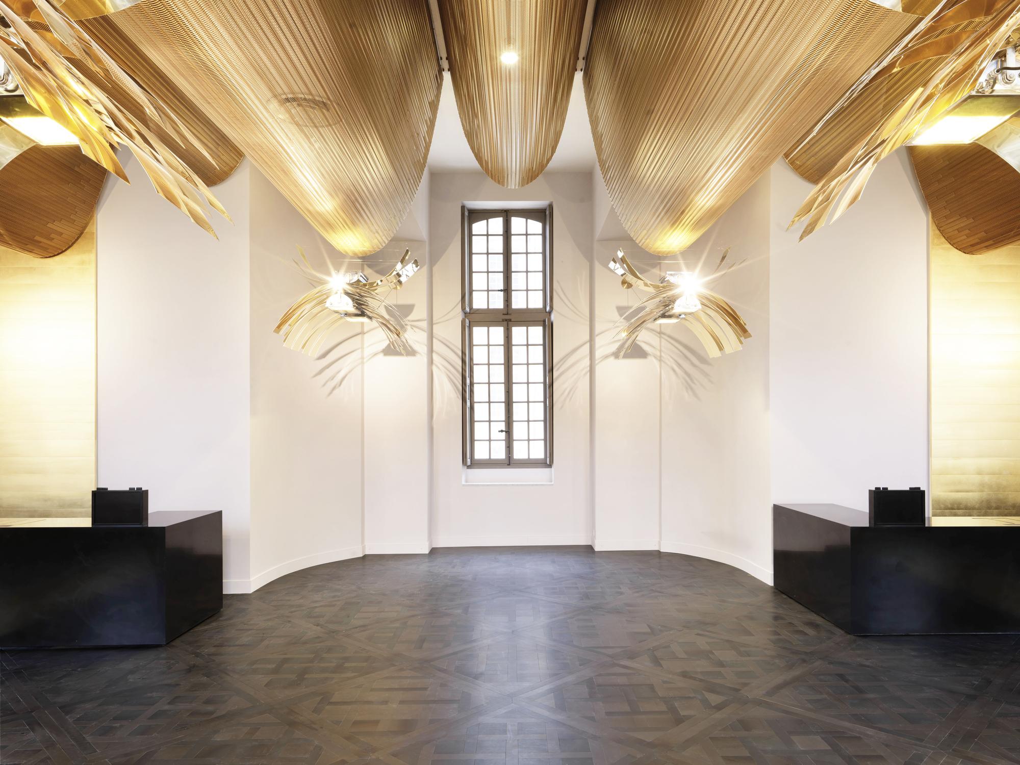 galeria de reforma do pavilh o dufour ch teau de versailles dominique perrault architecte 2. Black Bedroom Furniture Sets. Home Design Ideas
