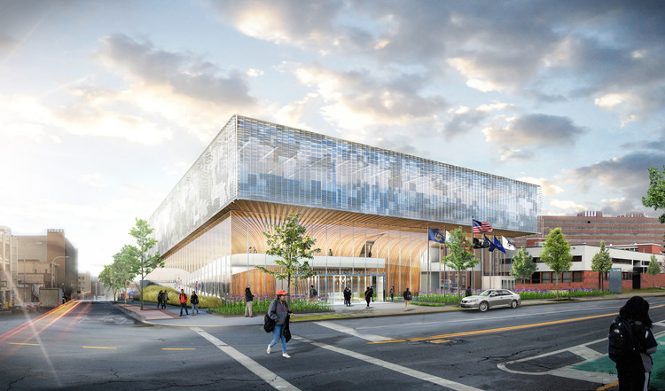 SHoP Architects to Design National Veterans Resource Complex at Syracuse University, Courtesy of SHoP Architects