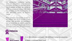 Últimas semanas para a inscrição no 9º Concurso para Estudantes de Arquitetura do CBCA