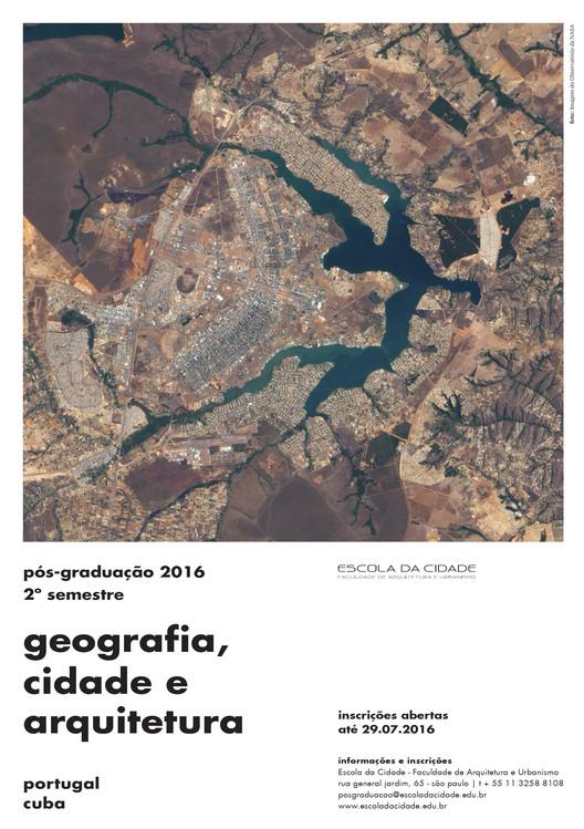 Inscrições abertas para o 2° semestre da pós-graduação na Escola da Cidade