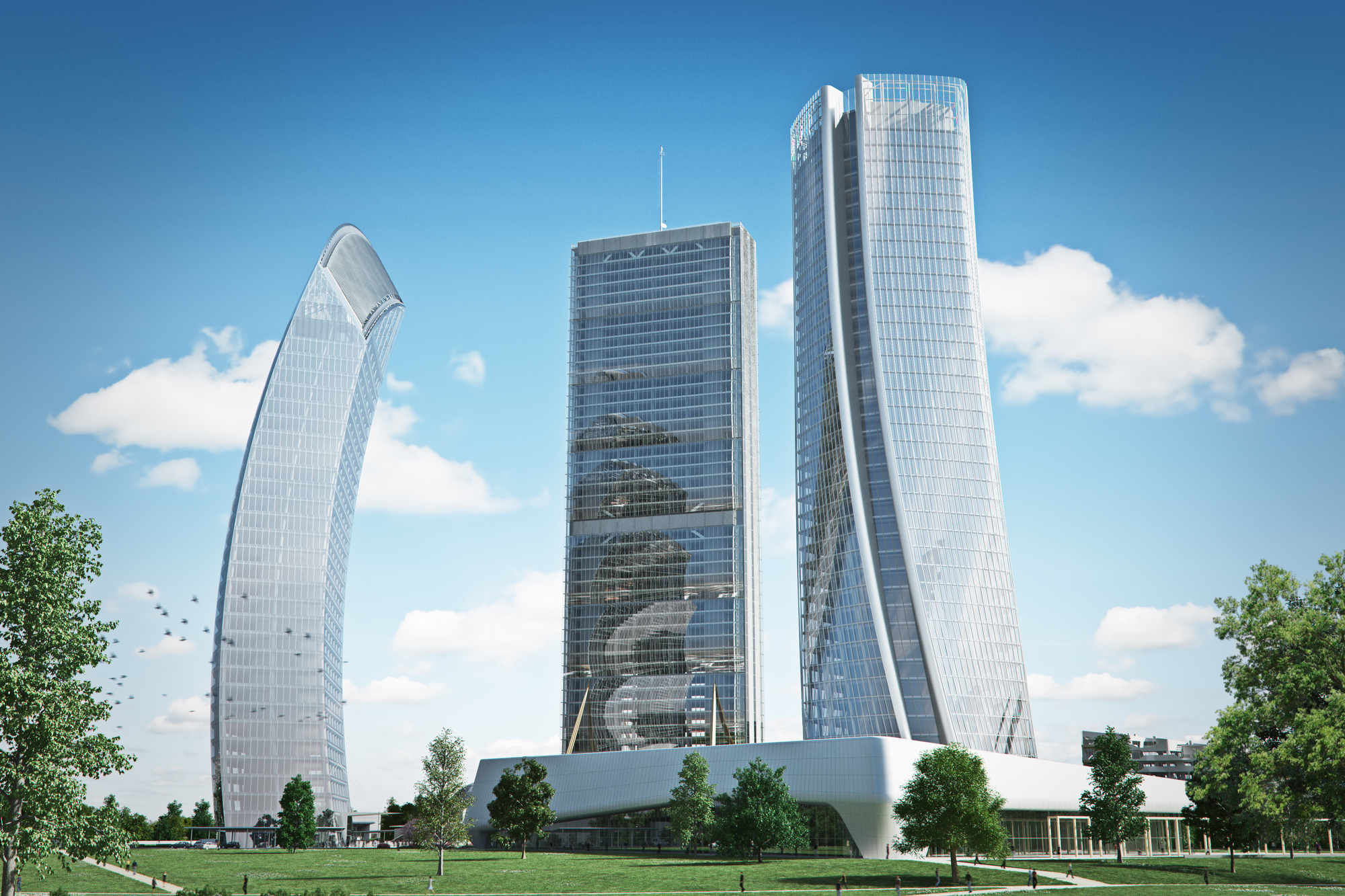 Gallery Of Zaha Hadid Architects Generali Tower Tops Out