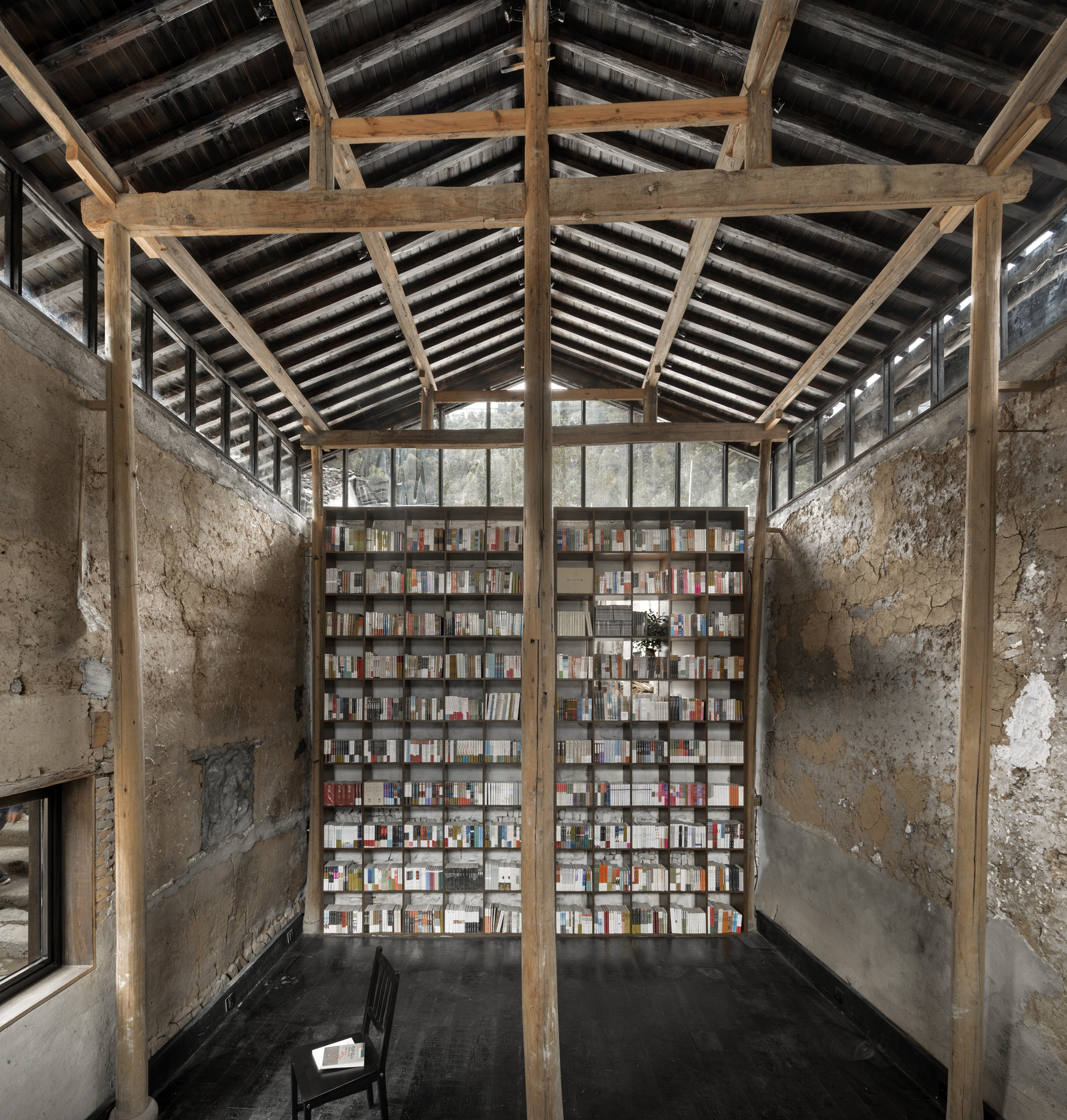 Gallery Of Avant Garde Ruralation Library Azl Architects