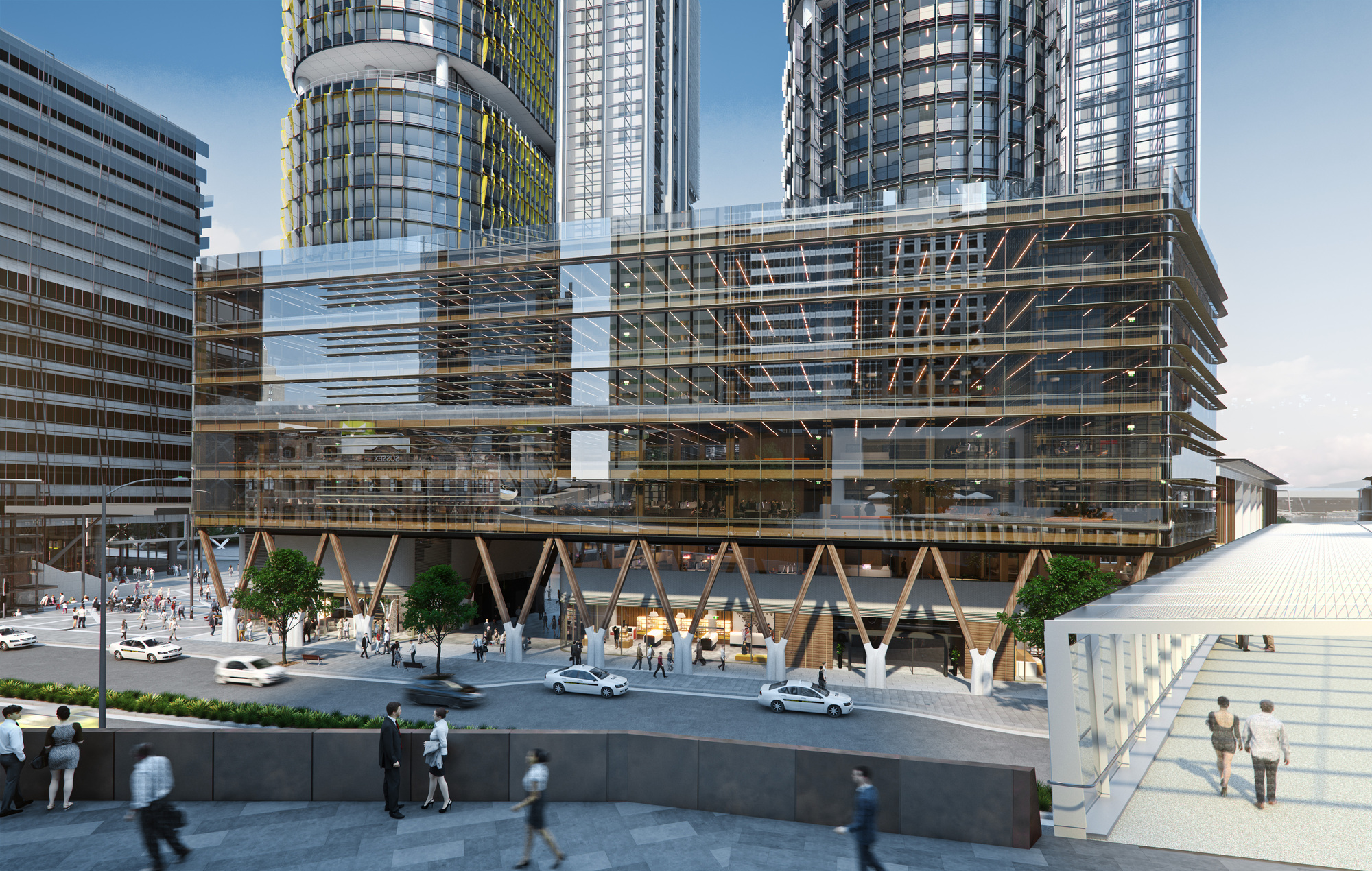 Tzannes Releases Designs For Australia S Largest: design house international