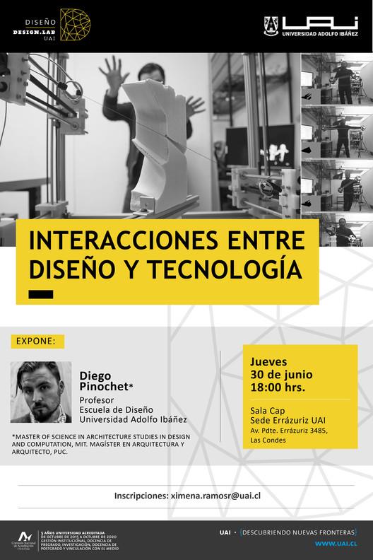 Charla 'Interacciones entre Diseño y Tecnología'