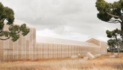 Georges Batzios Architects propone un centro cultural revestido completamente de paja