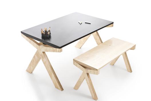 Minime mesa infantil camila thiesen archdaily brasil - Mesa camilla moderna ...