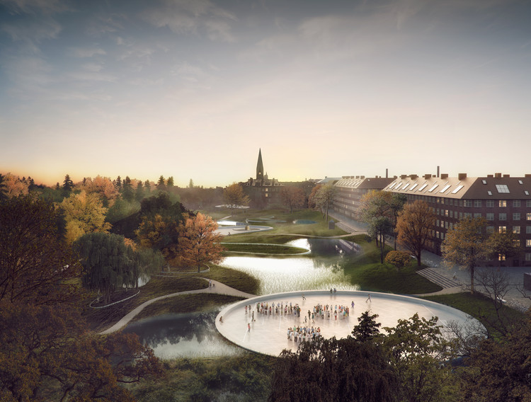 Masterplan by SLA and Ramboll Aims to Alleviate Flooding in Copenhagen, © SLA / Beauty and the Bit