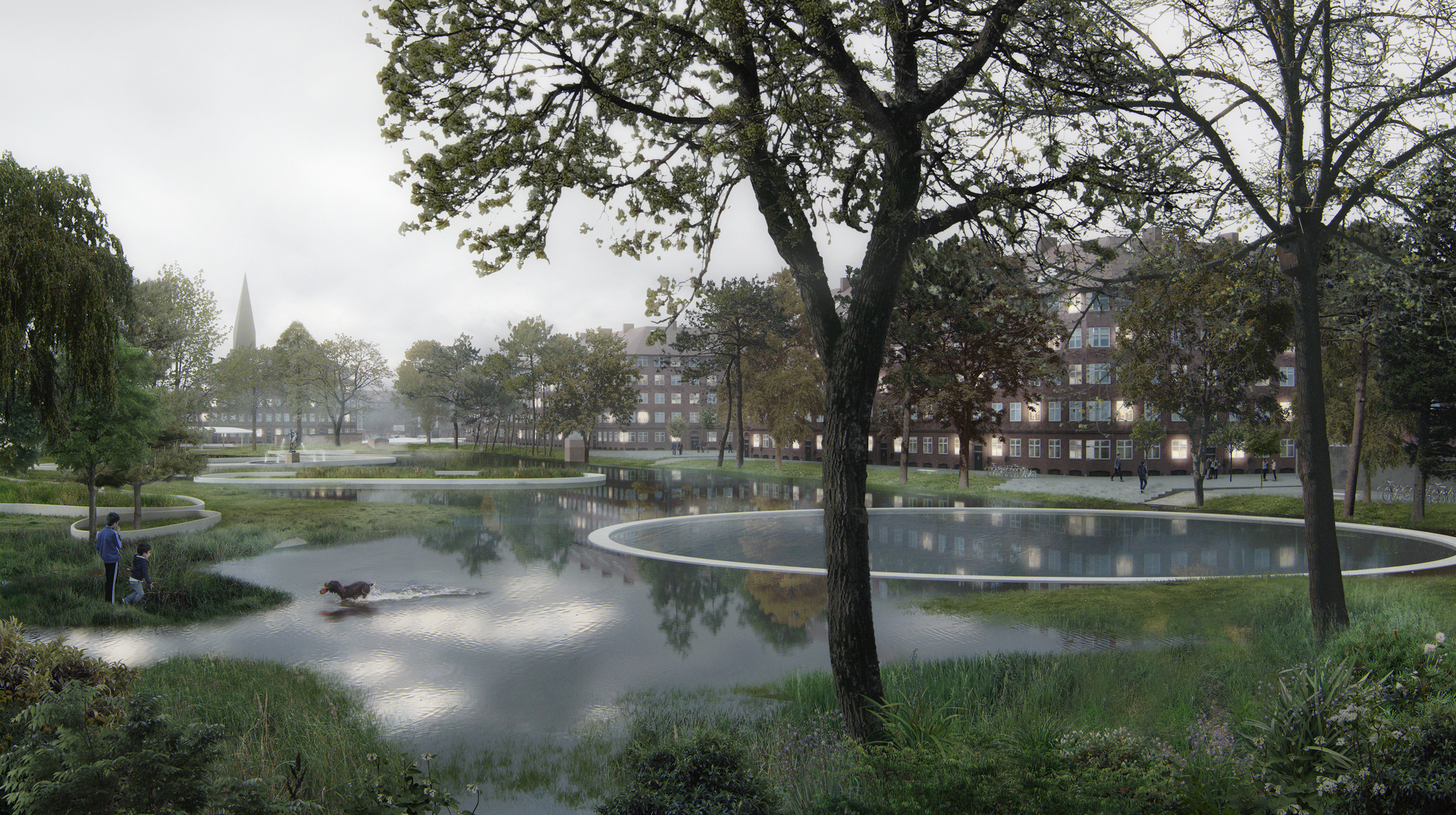 Image result for copenhagen flood park