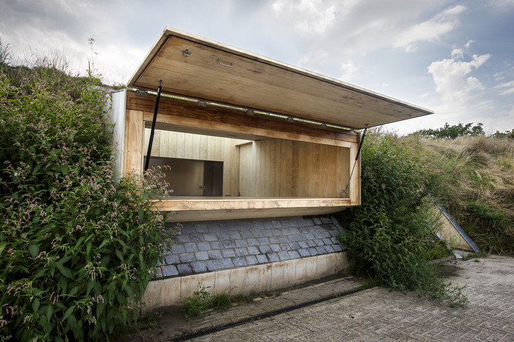 Kiosk at Ravelijn  / RO&AD Architecten, © Bastiaan Musscher