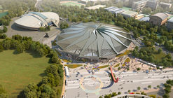 Tornado-Shaped K-Pop Concert Hall Wins Competition for Seoul's Olympic Arena Renovation