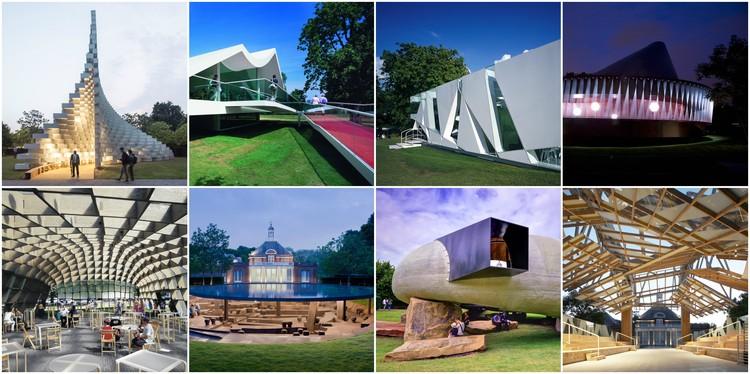 Arquivo: O Serpentine Pavilion ao longo dos anos