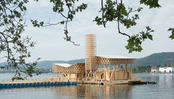 Pavillion architecture and design by Studio Tom Emerson in