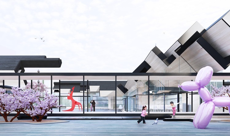 Gilles Retsin Architecture Unveils Design for Suncheon Art Platform, Courtesy of Gilles Retsin Architecture