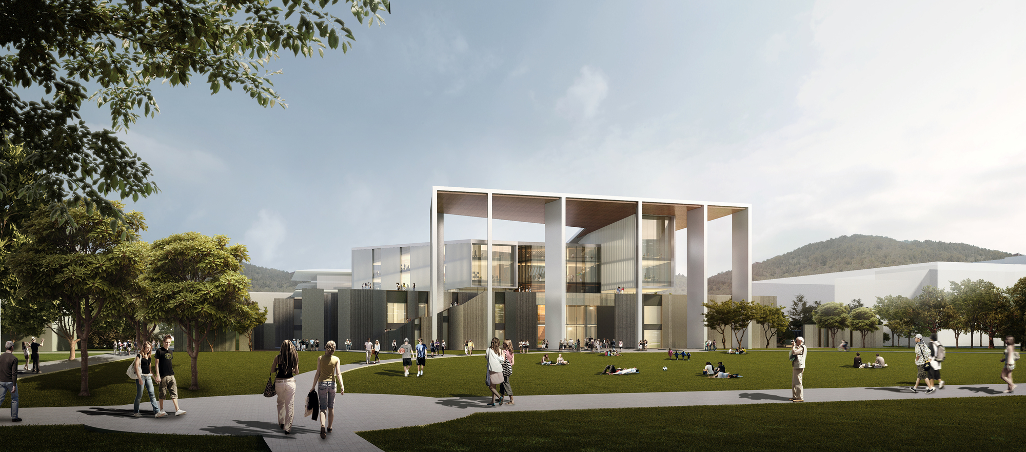 Winning Design Revealed for New College of Architecture and Design