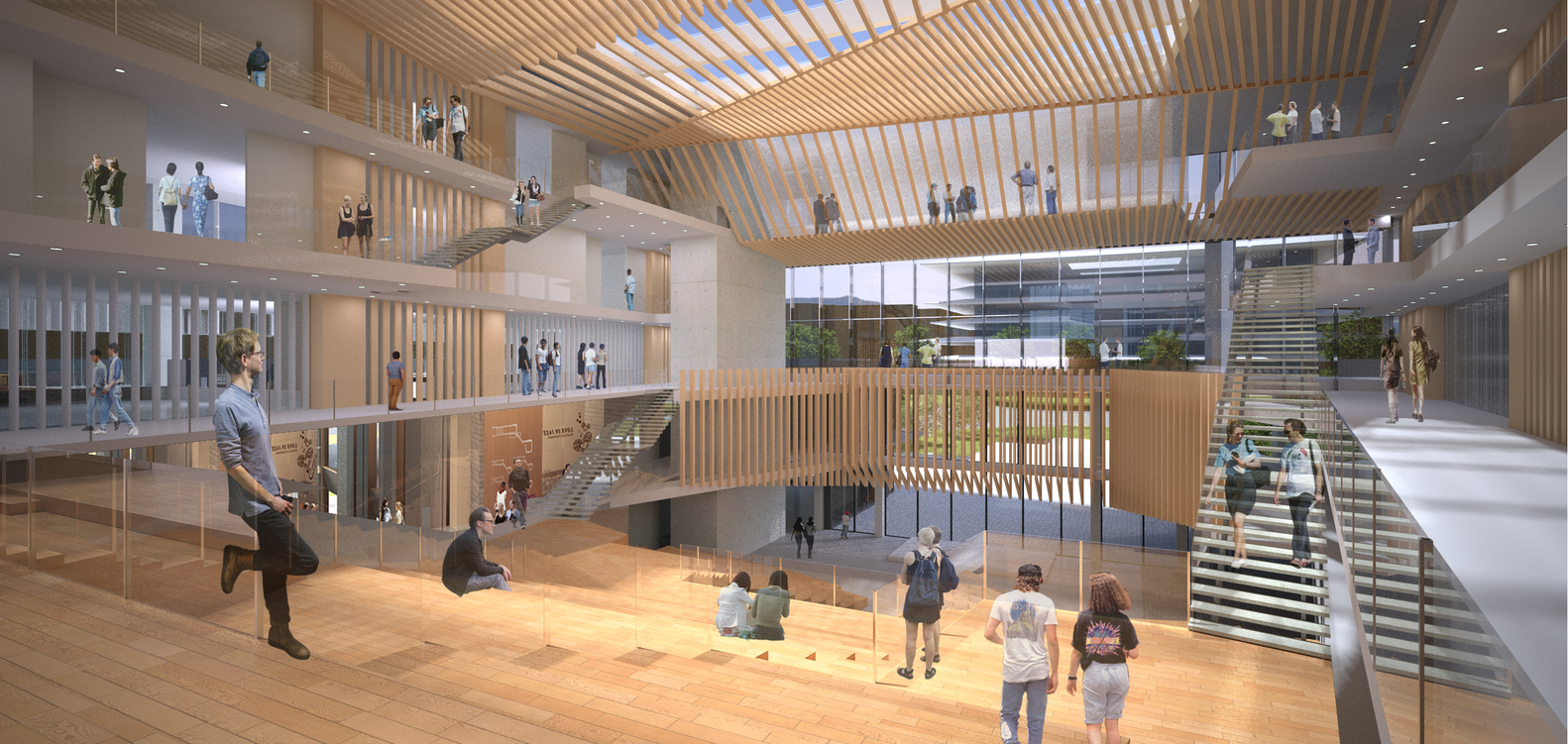 High Quality Winning Design Revealed For New College Of Architecture And Design In  China,Courtesy Of Moore