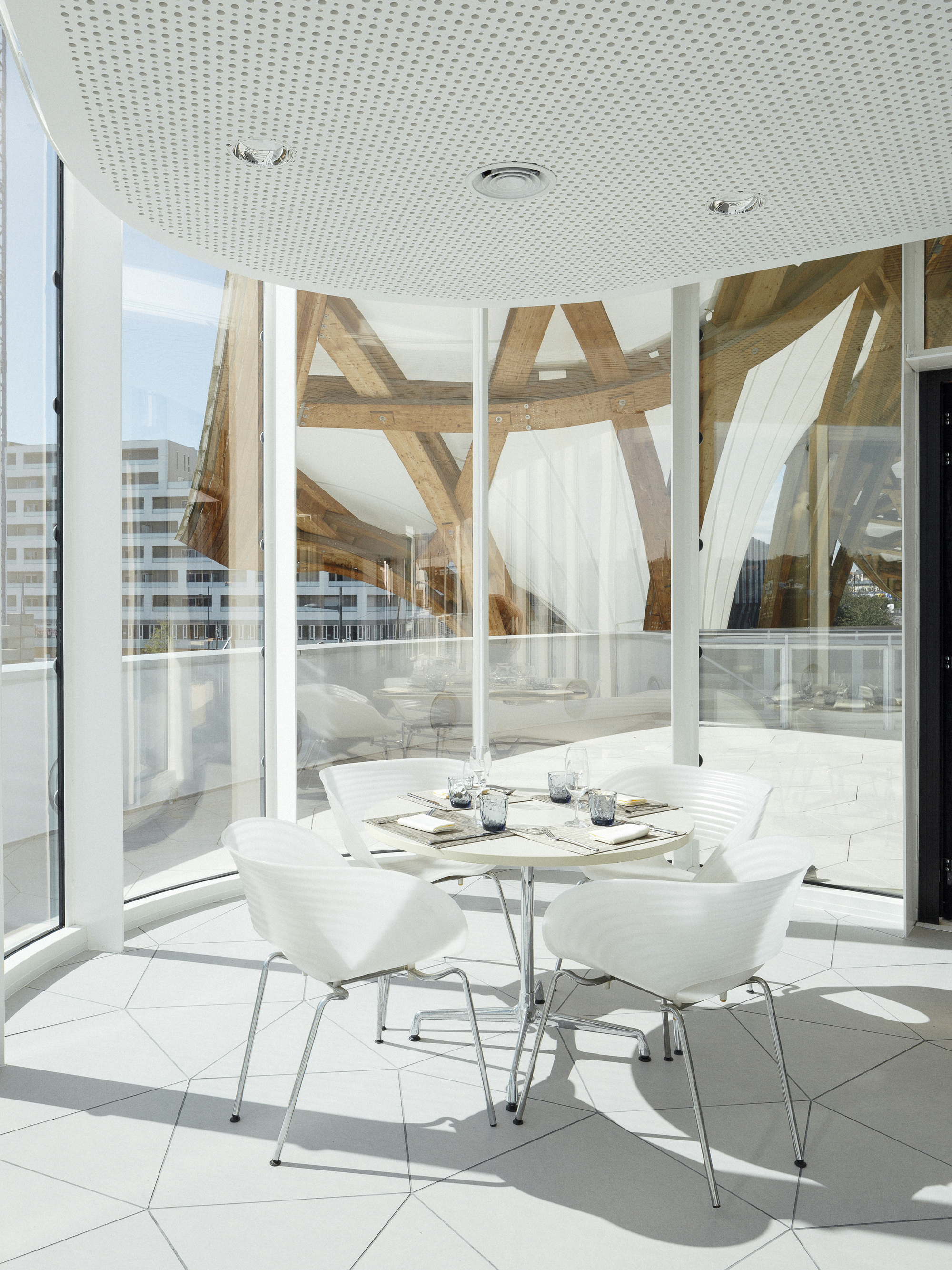 Gallery Of Pompidou Metz Restaurant Extension Studiolada