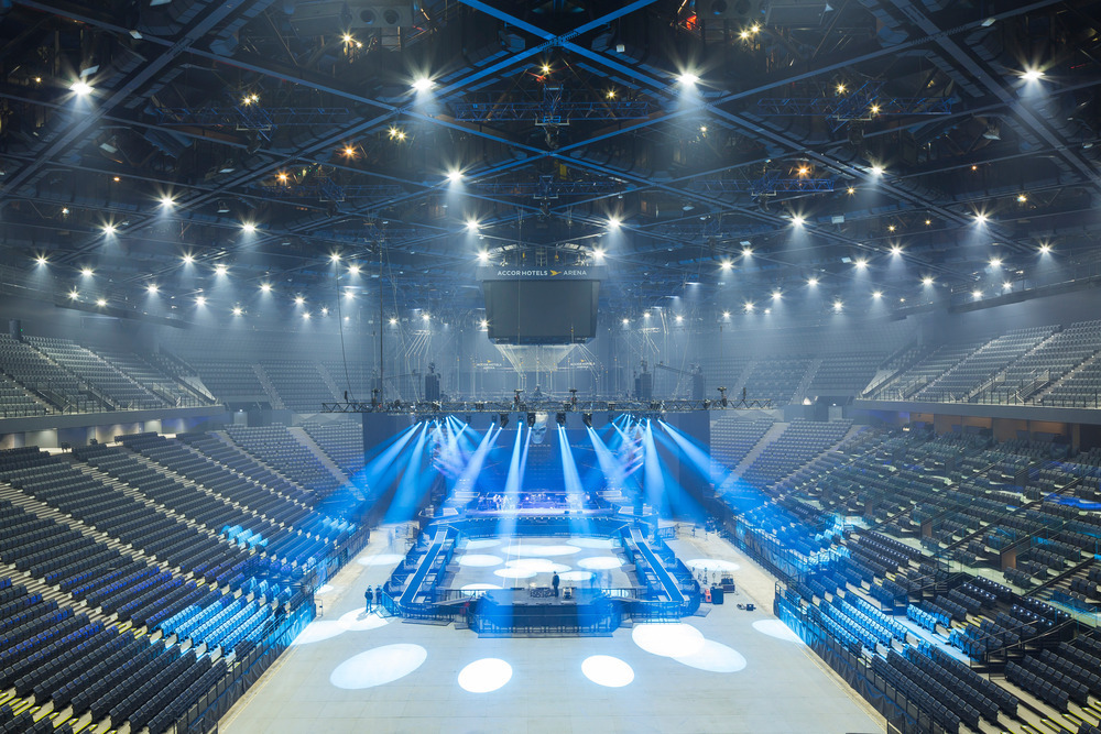 Gallery Of The Accorhotels Arena Dvvd Engineers