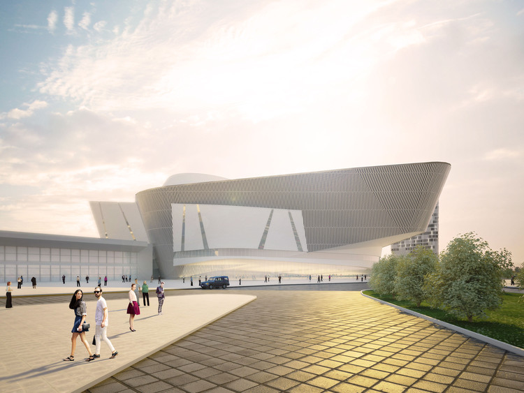 Twelve Architects' Reveals Their Design for International Exhibition Center in Russia, Courtesy of Twelve Architects