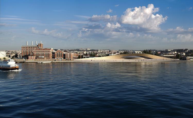 Museu de Arte, Arquitetura e Tecnologia de Lisboa é inaugurado hoje, MAAT à beira do rio Tejo em Lisboa. Image Cortesia de  Amanda Levete Architects