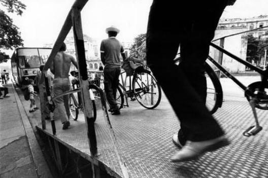 """""""Ciclobuses"""": uma opção intermodal de transporte público em Cuba, © Ciclobús cubano. (Via Facebook)"""