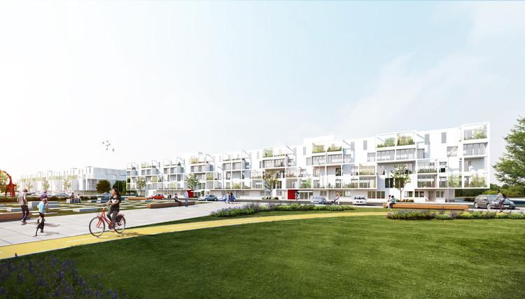 1.61 Arquitectos, tercer lugar en concurso de viviendas sociales Villa 20 en Buenos AIres, Cortesía de 1.61 Arquitectos