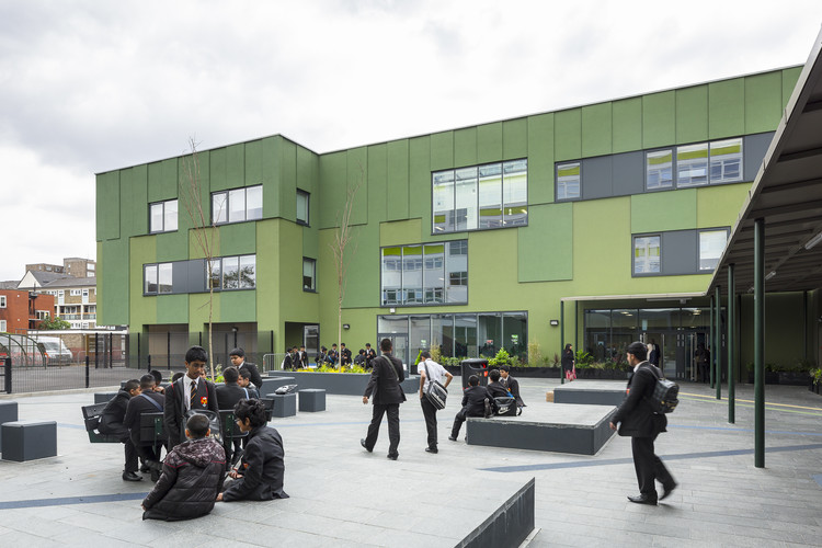 Stepney Green College  / S333 Architecture + Urbanism, © Tim Crocker