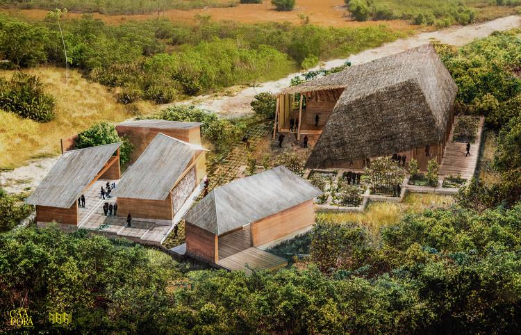 Palenque Cultural Tambillo: al rescate de las tradiciones artísticas de un pueblo afro-ecuatoriano, Vista Aérea