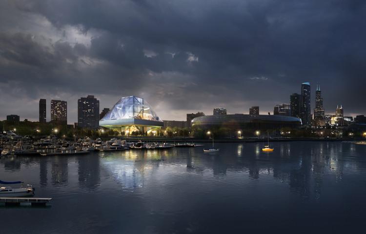 OMA divulga imagens de um projeto alternativo para o Lucas Museum, Cortesia de OMA New York