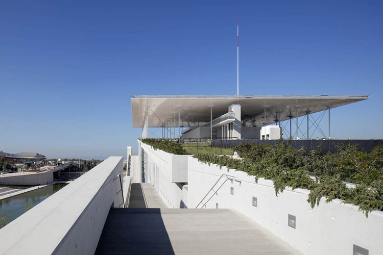 Stavros Niarchos Foundation Cultural Centre  / Renzo Piano Building Workshop , © Michel Denancé