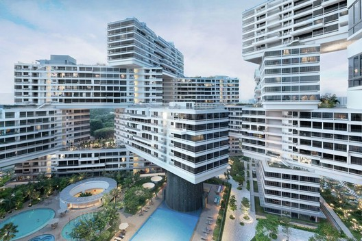 World Building of the Year 2015 Winner: The Interlace (Singapore) / OMA and Ole Scheeren. Image © Iwan Baan