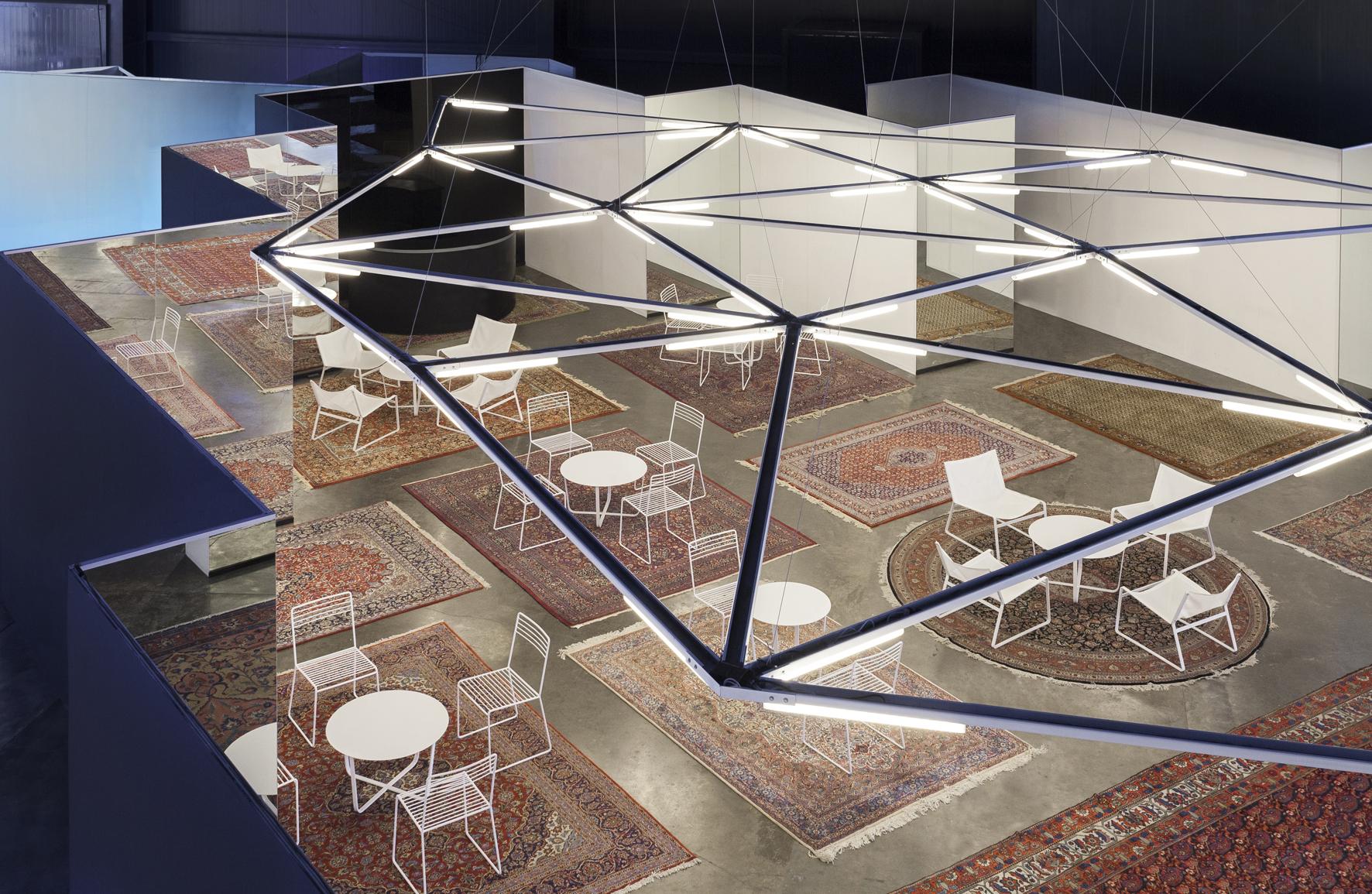 Adamo Faiden proyecta una instalación lumínica para arteBA 2016 en Buenos Aires