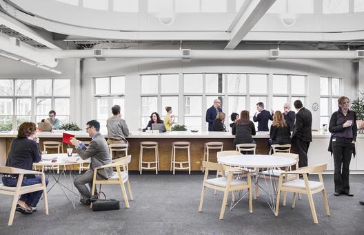 Princípios para projetar espaços de trabalhos colaborativos, Cortesia de Herman Miller