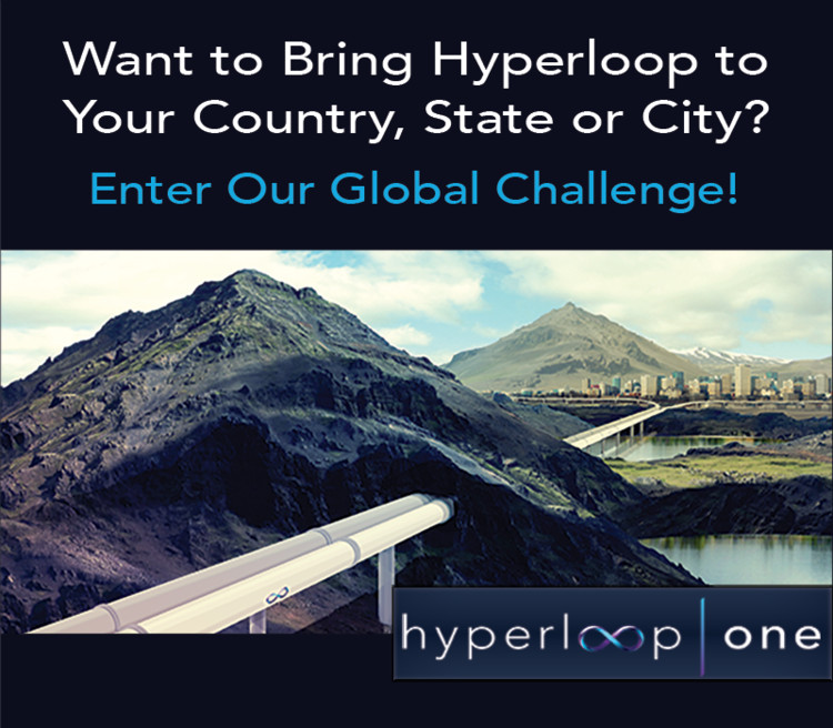 Enter The Hyperloop One Global Challenge