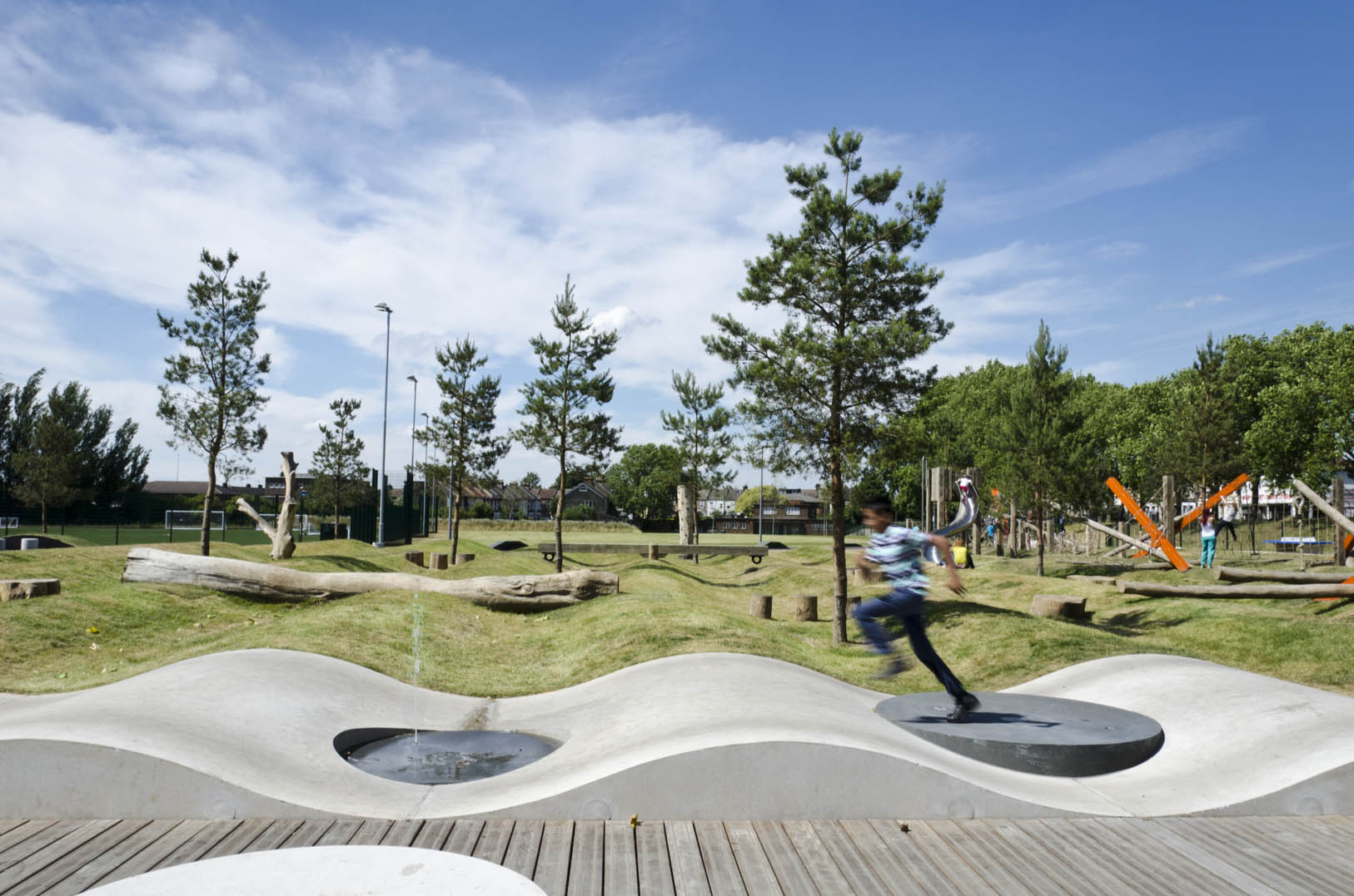 Drapers field kinnear landscape architects archdaily for Area landscape architects