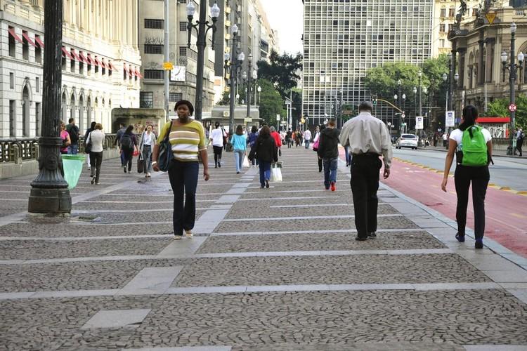 Três cidades brasileiras dão exemplo de priorização aos pedestres, Curitiba. Image © Mariana Gil/WRI Brasil Cidades Sustentáveis