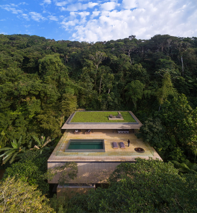 Jungle  House  / Studio MK27 - Marcio Kogan + Samanta Cafardo, © Fernando Guerra |  FG+SG