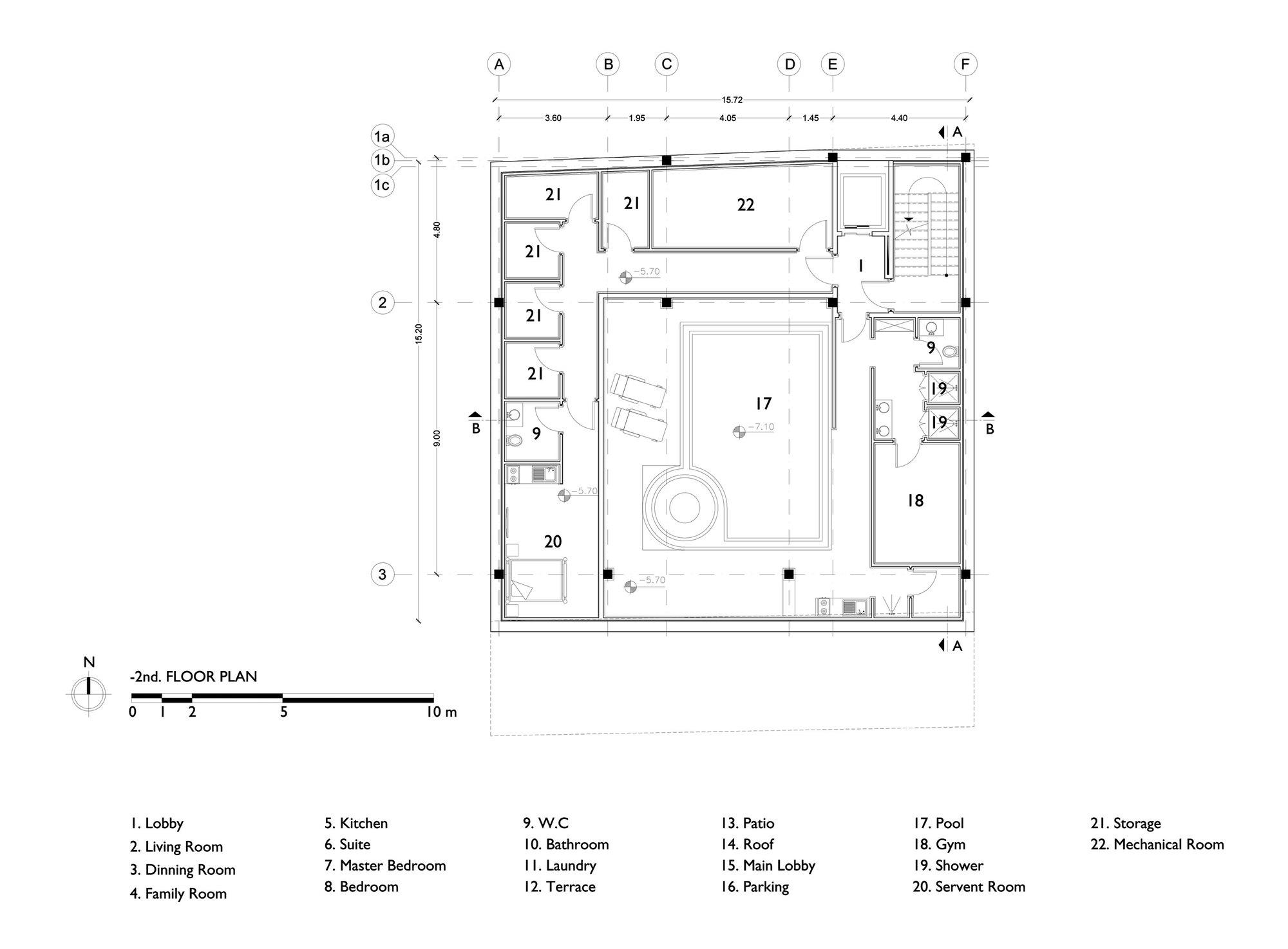 Gallery Of Khazar Residential Building S A L Design Studio 19