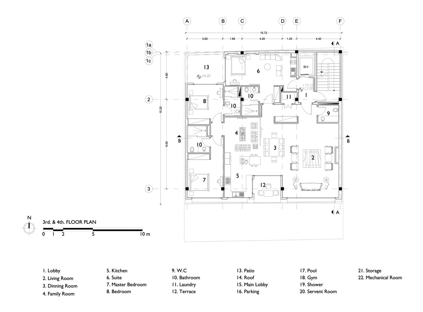 Gallery Of Khazar Residential Building S A L Design Studio 20