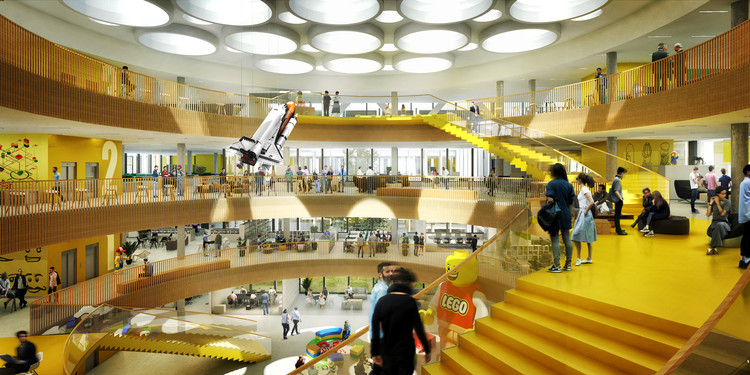 C.F. Møller Designs New Headquarters for LEGO, Courtesy of C.F. Møller