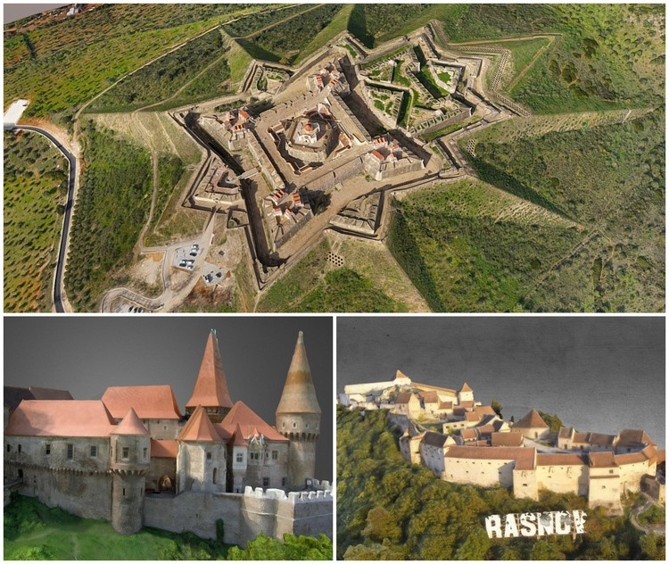 6 Castle Fortresses Across Europe, as Selected by Sketchfab