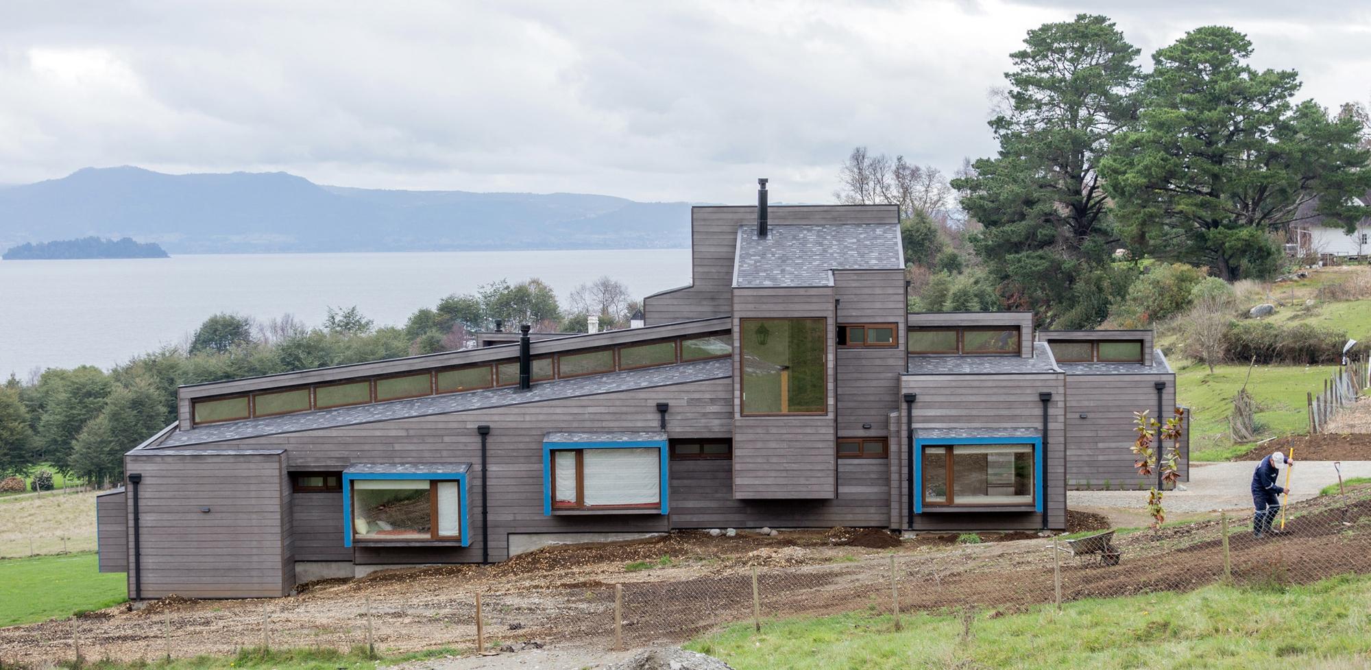 Casa lago ranco claro westendarp arquitectos for Casa de arquitectos