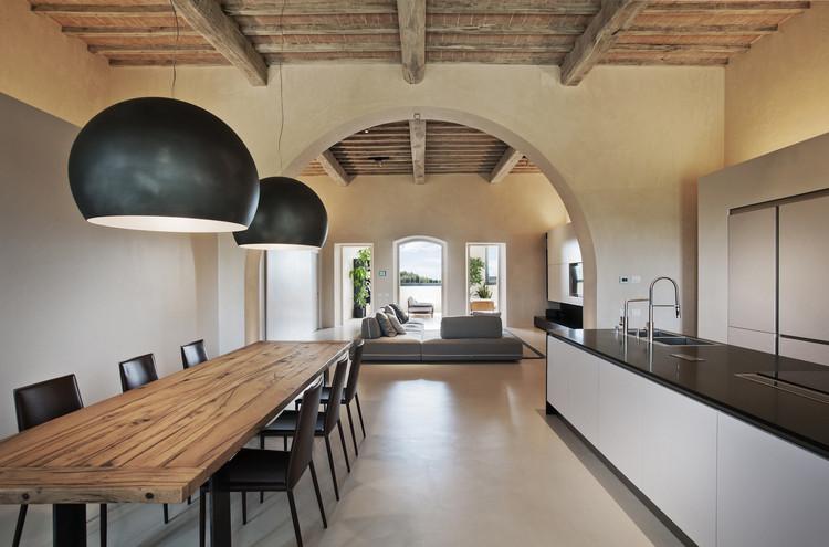 Villa en Monteriggioni  / CMTarchitects, © Centrofotografico