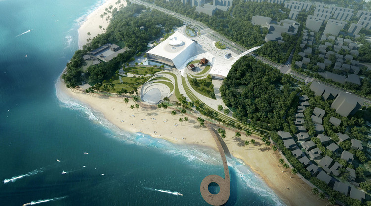 Ennead Architects Designs Sweeping New Music Center for Xiamen, © San Labs for Ennead Architects