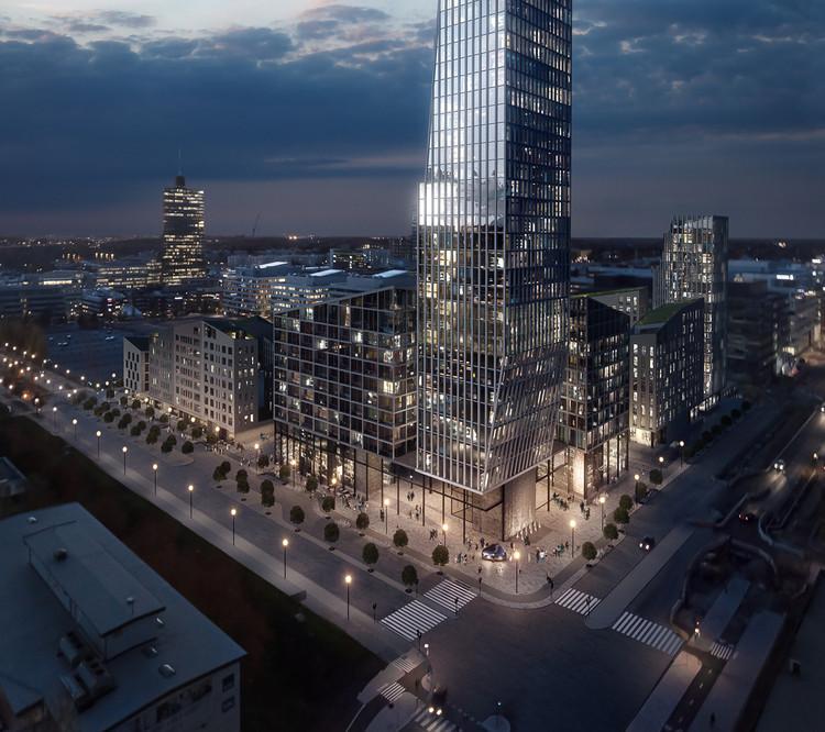 Dreem Arkitekter's Mixed-Use Plan Includes Stockholm's Tallest Tower, © Dreem Arkitekter & Tomorrow AB